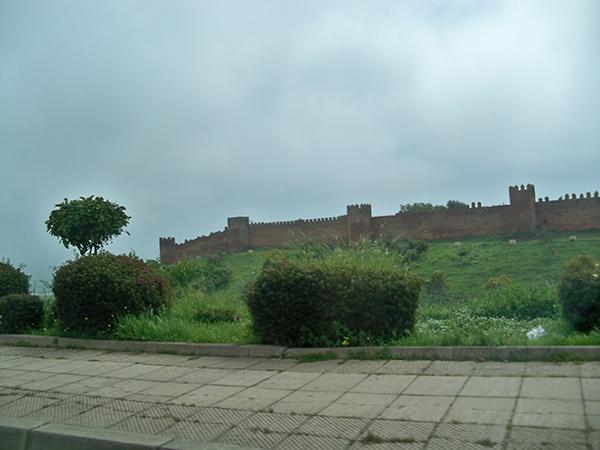 city walls Rabat