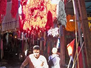 Drying yarn