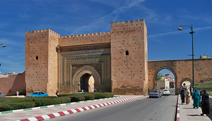 gate to walled city