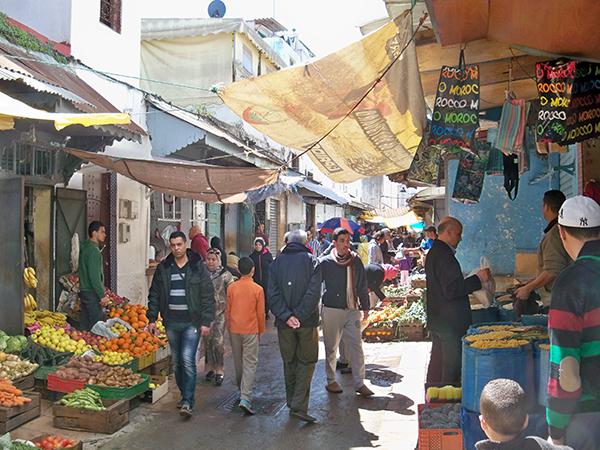 Medina market in Rabat