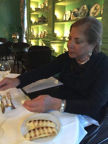 Dinner at Villa Josephine