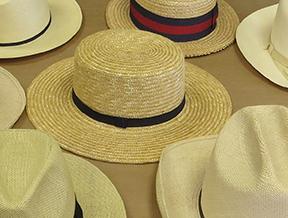 Shaker Straw hat