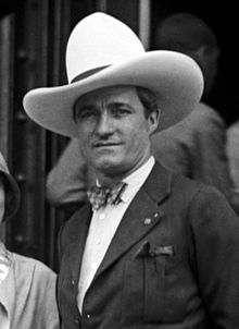 Tom mix portrait