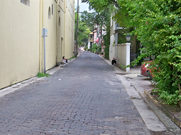 quiet back streets
