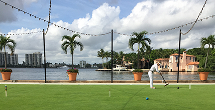 Everglades Club Croquet Court