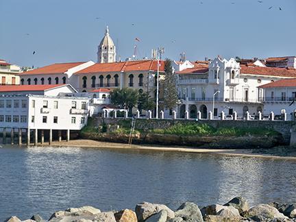Colonial Panama city