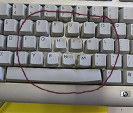 melted keys