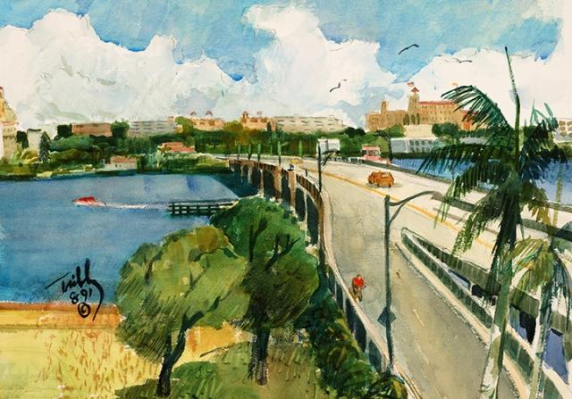 Royal Poinciana Bridge