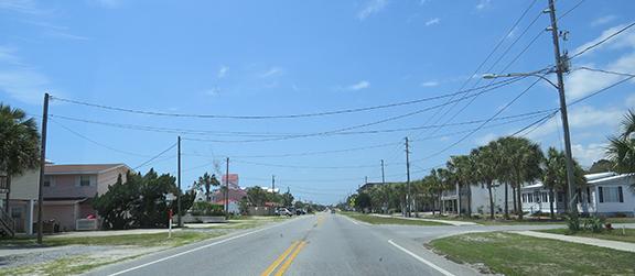 Panhandle roadway