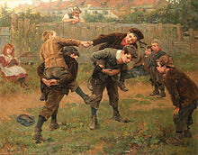 Ralph_Hedley_The_tournament_1898