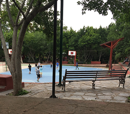 this-area-of-juarez-park-is-always-active