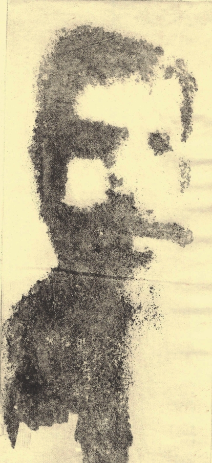 Self Portrait with Cigar