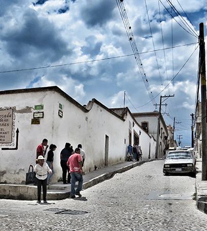 Pozos street corner