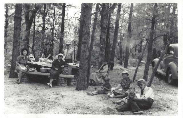 Family Picnic at Wolf Creek