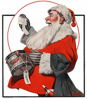 Tommy's Drum by Norman Rockwell